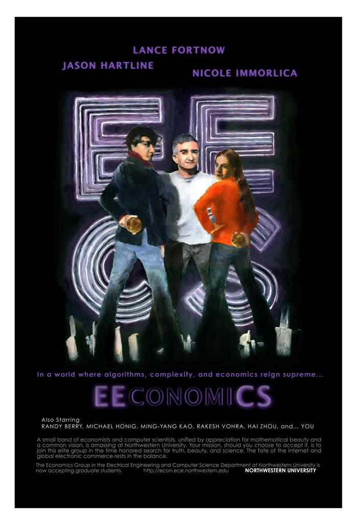 The Economics Group in EECS (2007 promotional poster)